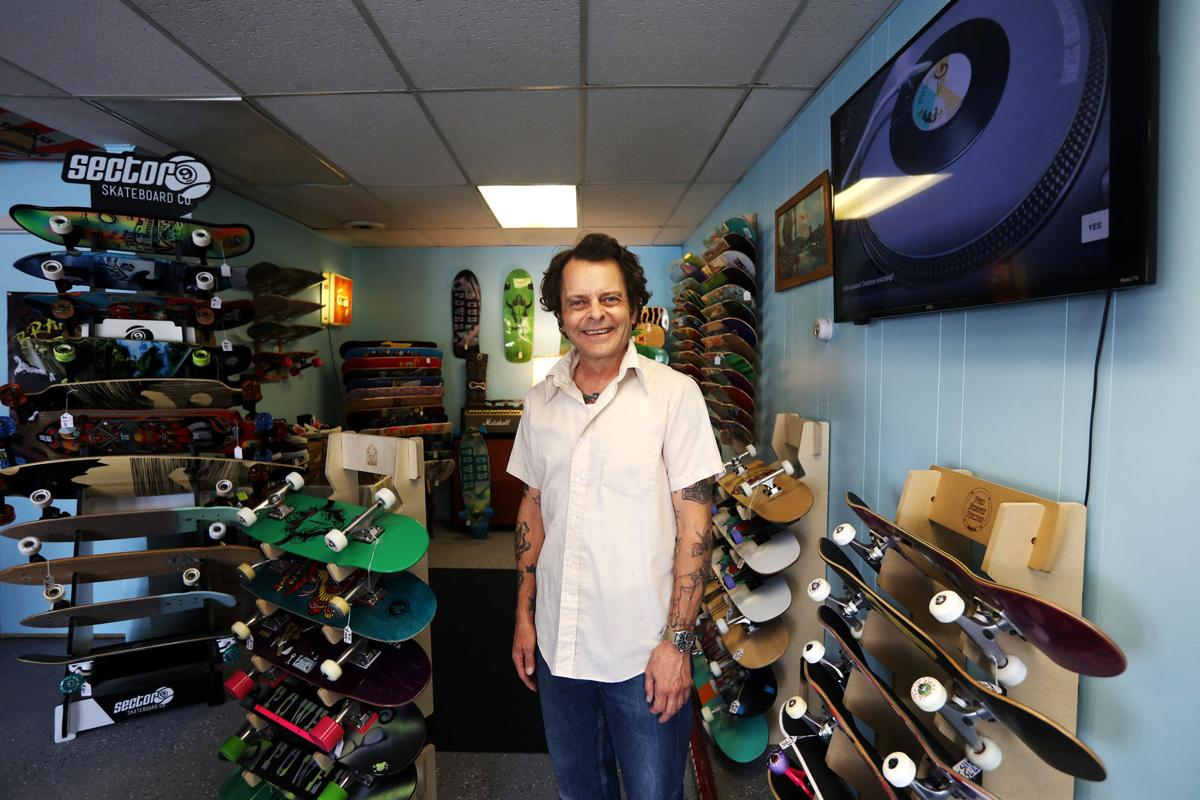 Nate Howe at Cub Power Skateboards in Butte