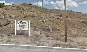 Under repairs: Mountain Con mine sign coming home soon