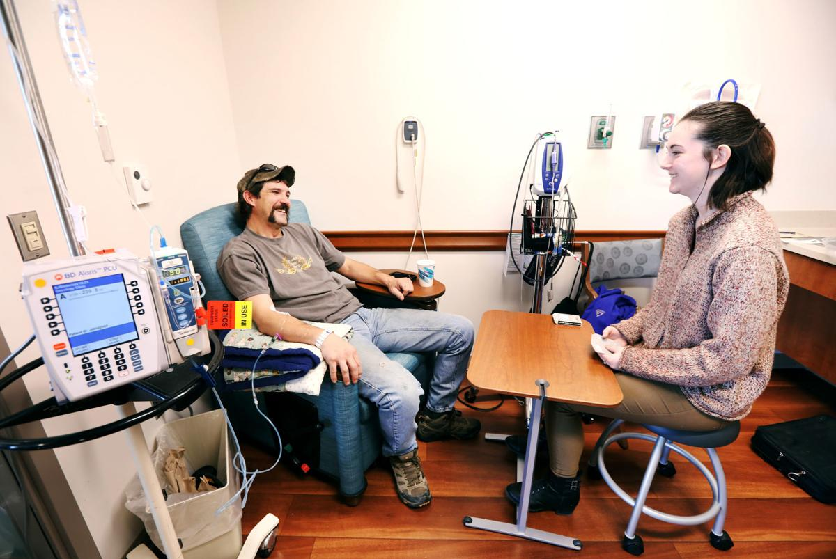 A 42 year-old Butte man shares his struggle with cancer