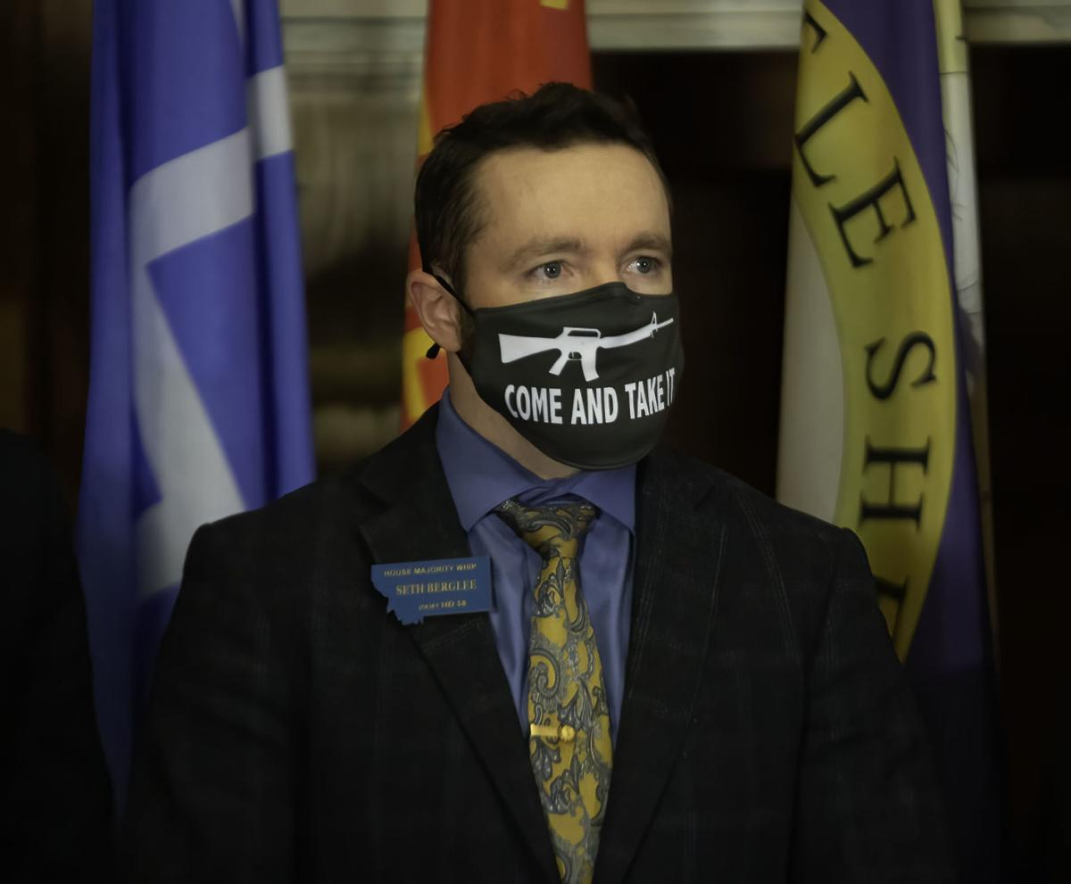 Sponsor of House Bill 102, Rep. Seth Berglee, R-Joliet