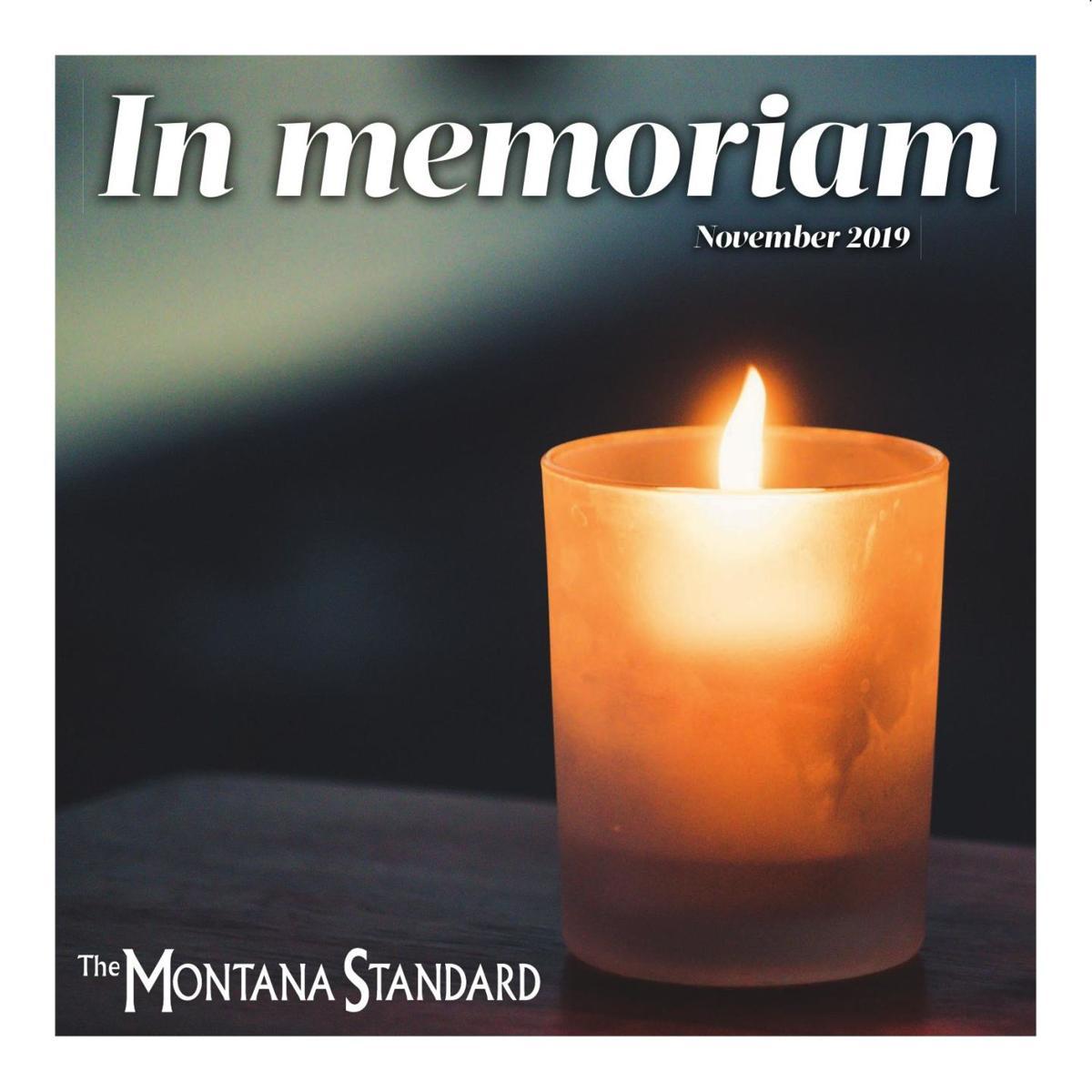 In Memoriam November 2019