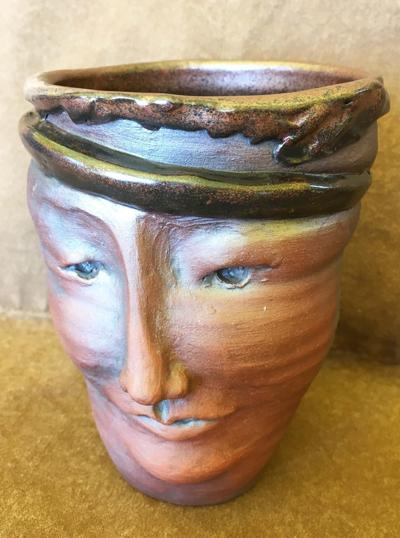 Clay artistry of Mary Christopher