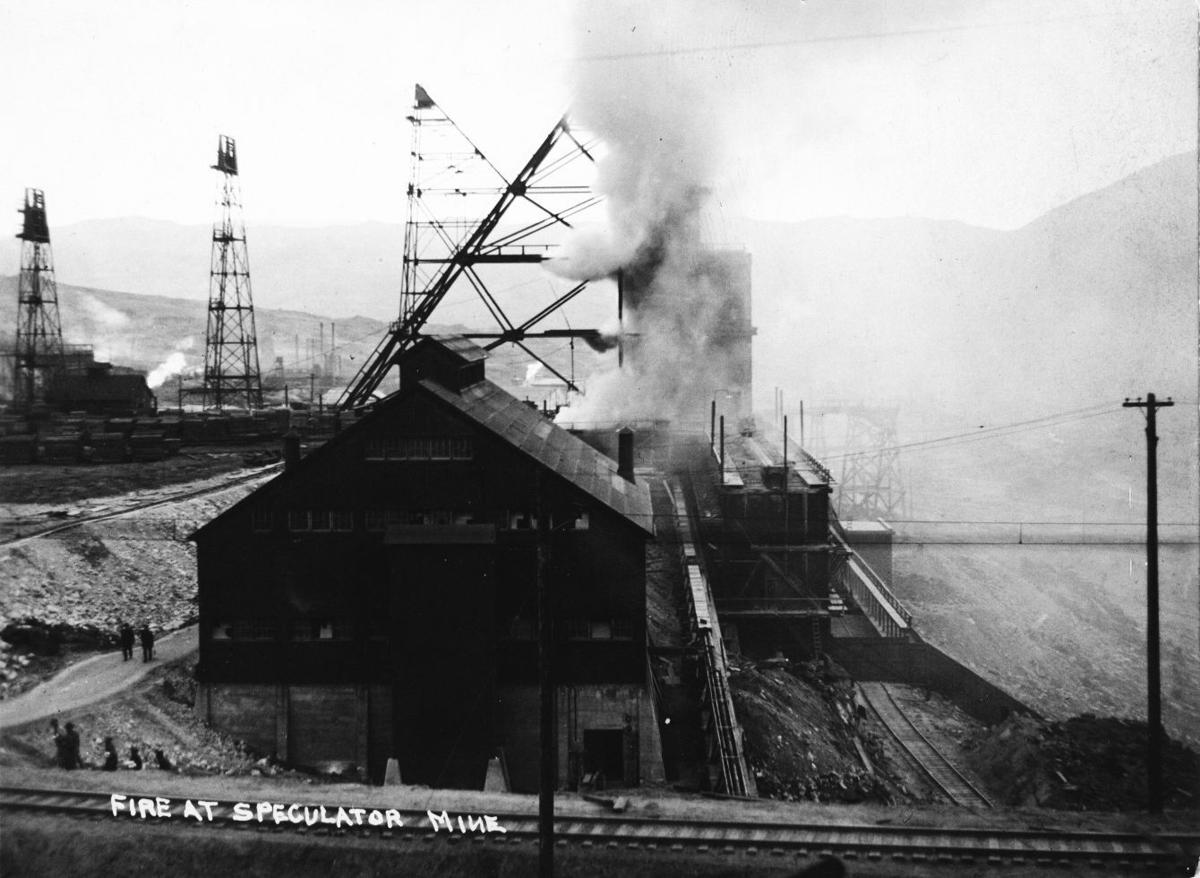 Mine fire June 8, 1917