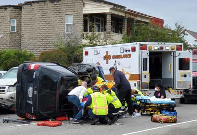 Accident sends three to hospital