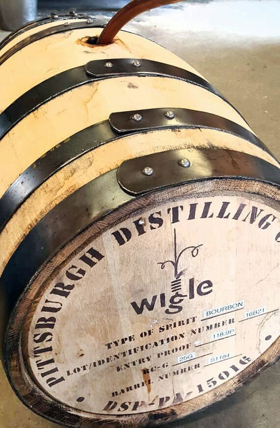 Old State Farms barrel