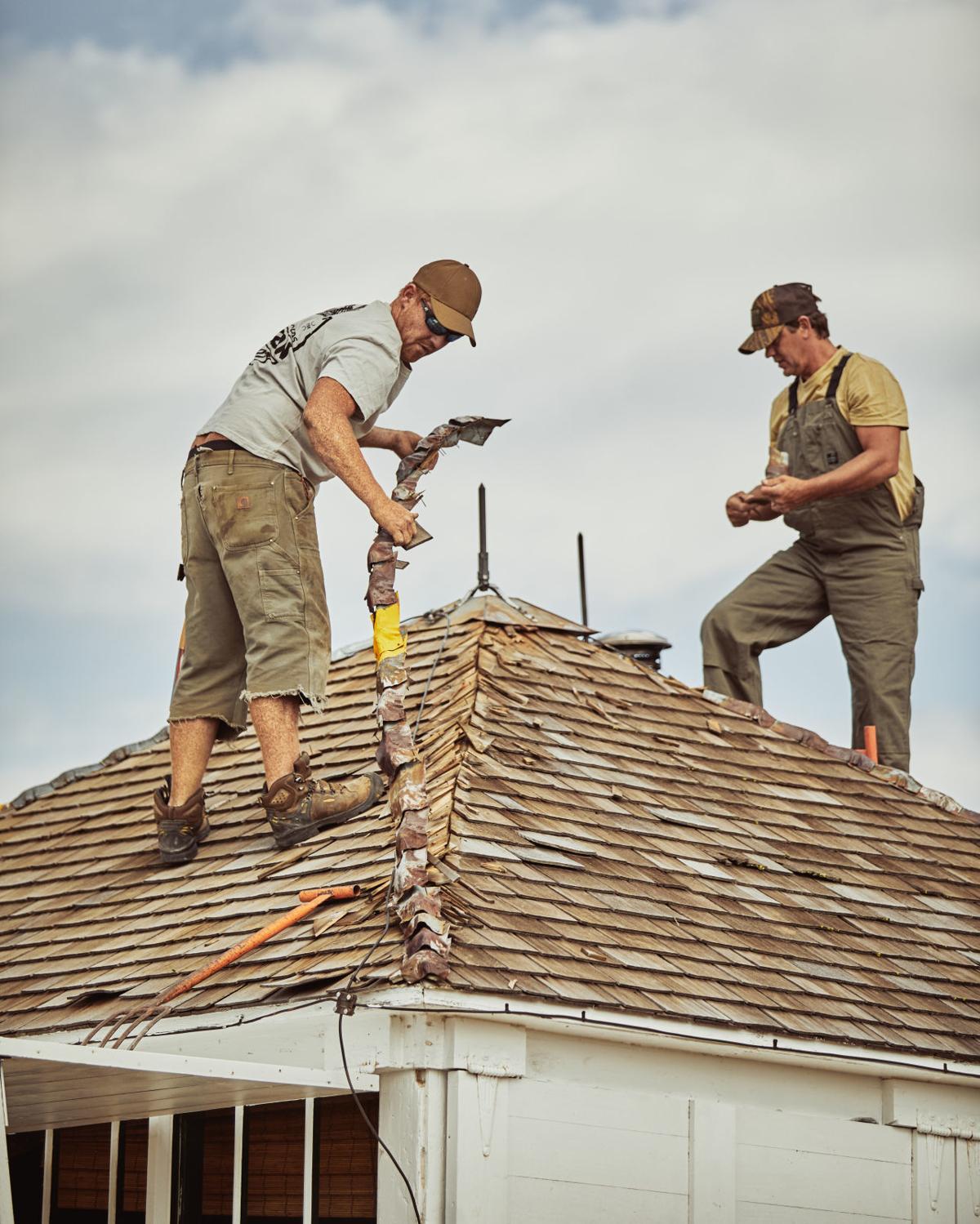 Roof work