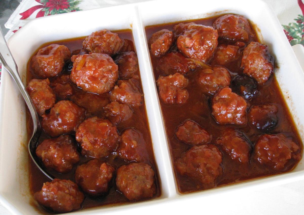 Mom's Ham Meatballs