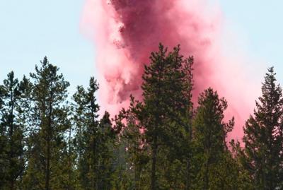 Homestake Pass fire