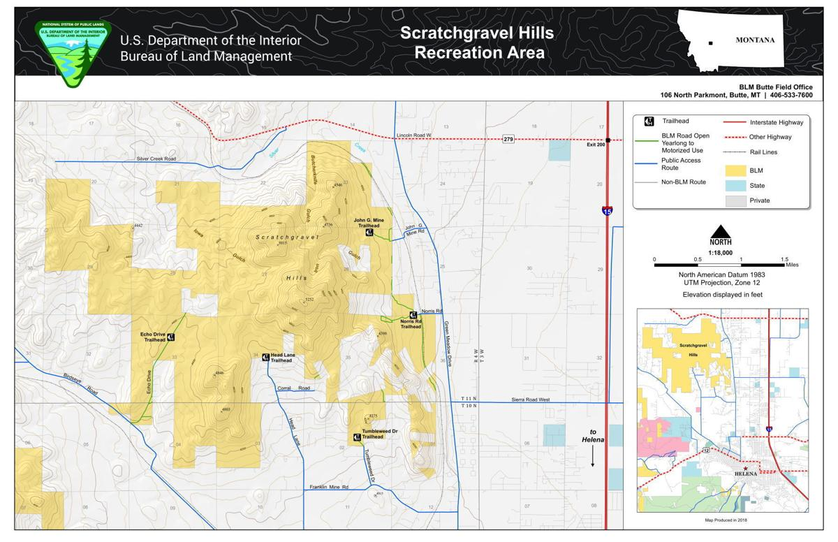 Scratchgravel Hills Map