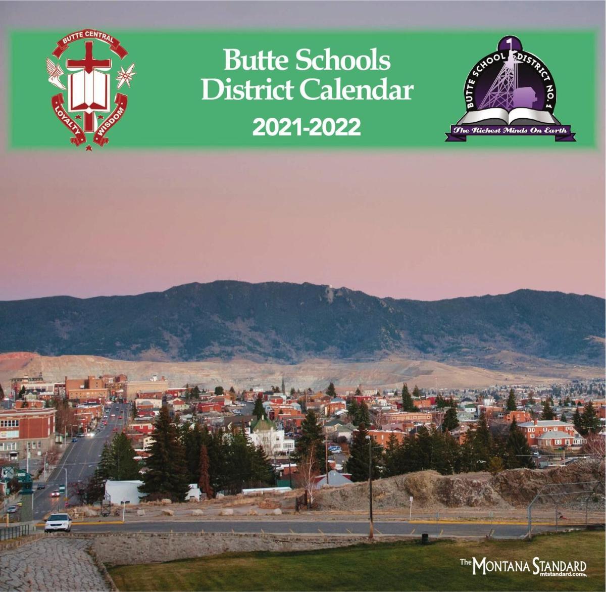 Butte School Calendar 2021-2022