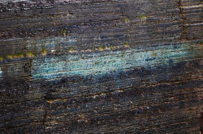 Copper Layers in the Slag