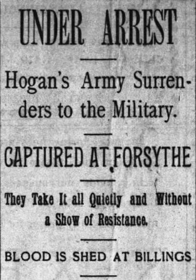 Mining City History: Hogan's army took to the rails in panic of 1893
