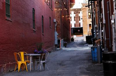 Revamping an Uptown Butte alley