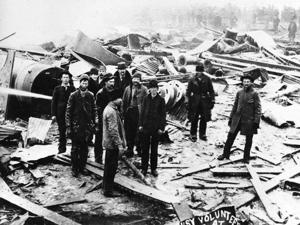 Deadly disaster: Firefighters, onlookers perish in 1895 explosion