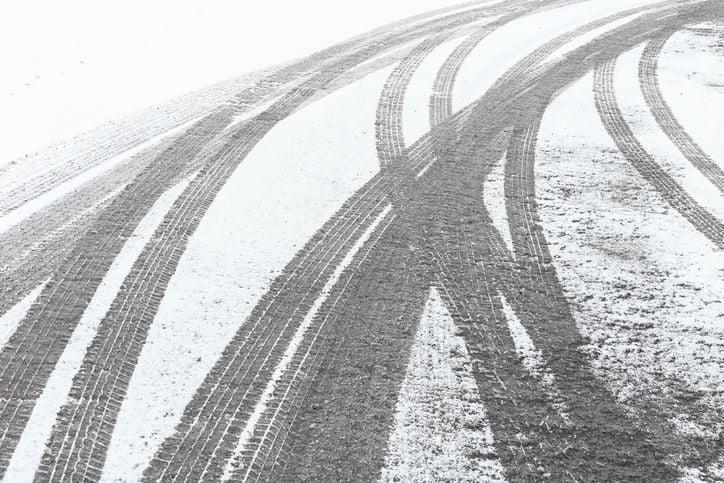 icy road stockimage