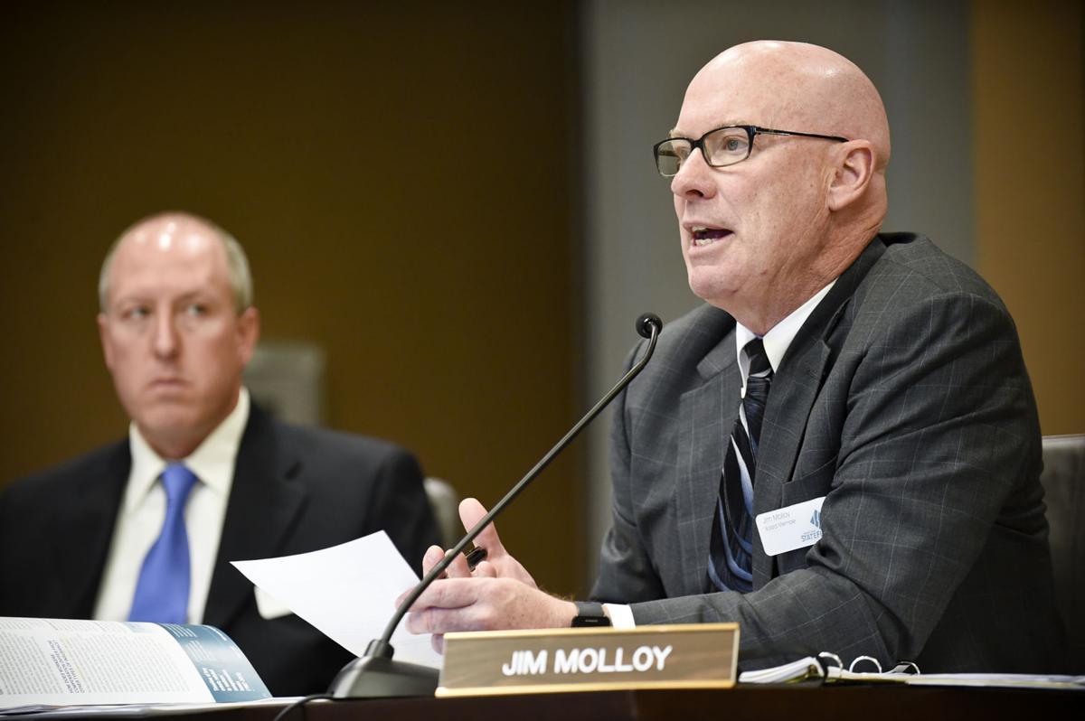 New board member Jim Molloy