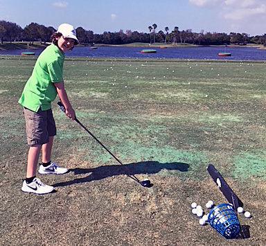 Aubrey Kelley golfer