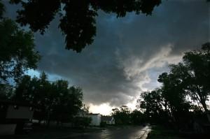 Tornado hits Billings