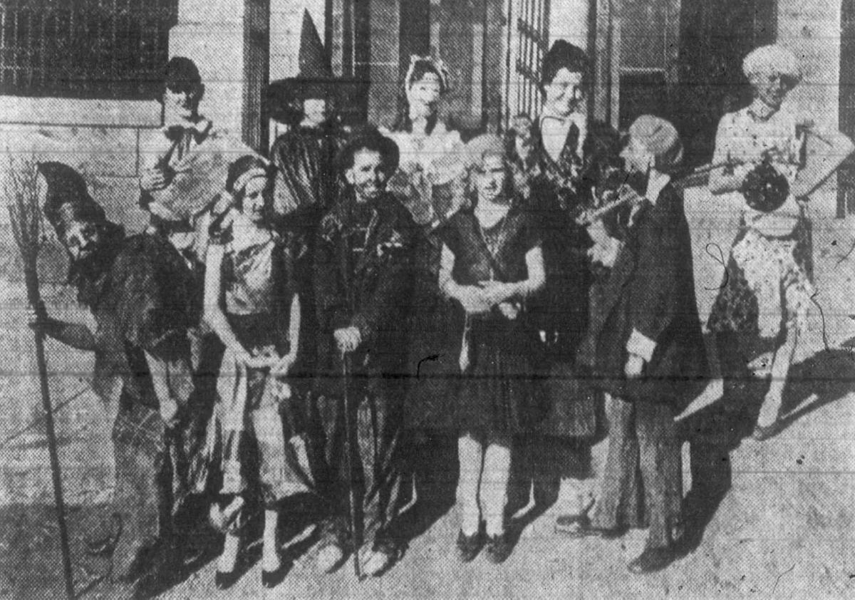 Butte Halloween costumes, 1930