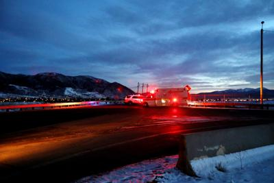 Underground gas break reroutes traffic on several Butte streets