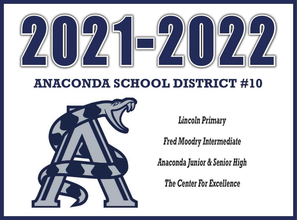 Anaconda School Calendar 2021-2022