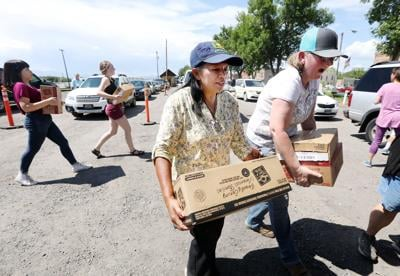 USDA and Convoy of Hope deliver 39,000 pounds of meat to Southwest Montana