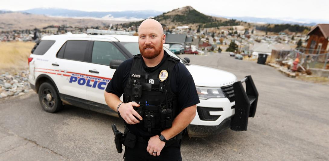 Officer Rich O'Brien named Safe Space Domestic Violence Officer of the Year