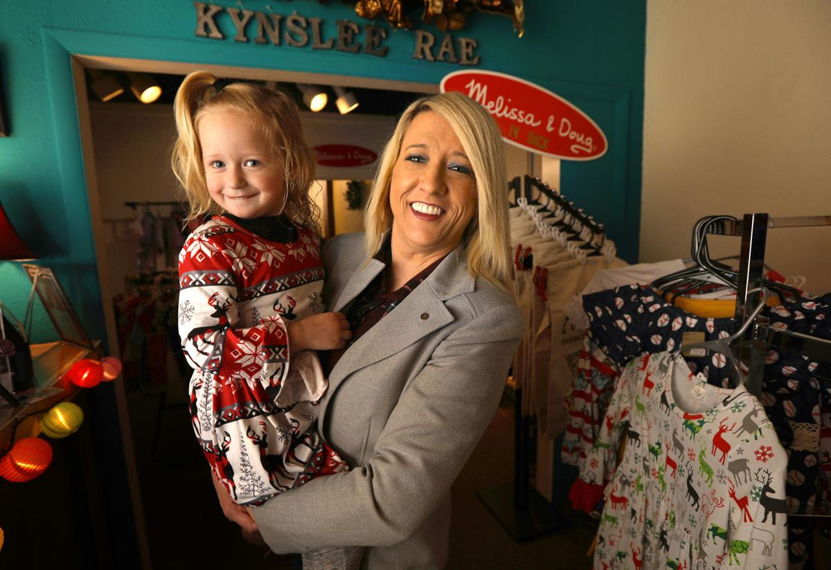 Owner of Kynslee Rae clothing store finds inspiration in her children