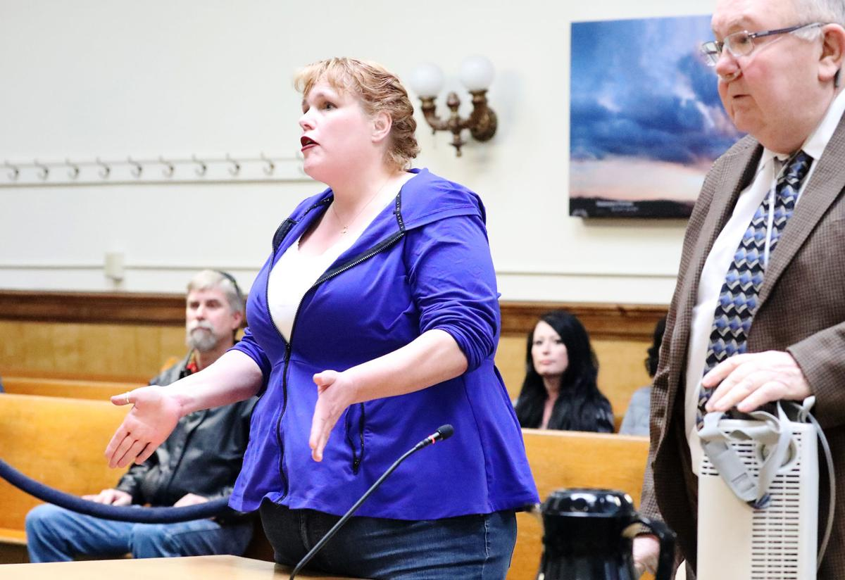 Amy Kadrmas in court