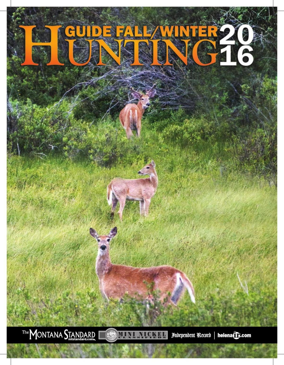 Fall/Winter Hunting Guide 2016