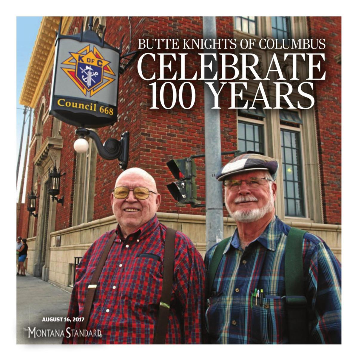 Butte Knights of Columbus Celebrate 100 Years