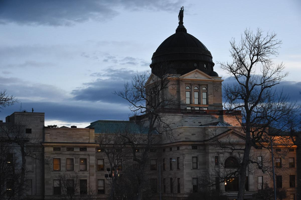 The Montana State Capitol building in Helena.
