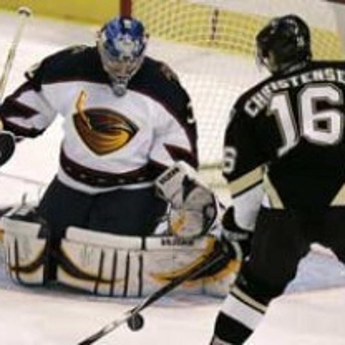 Thrashers take down Pens for fifth straight | Sports News