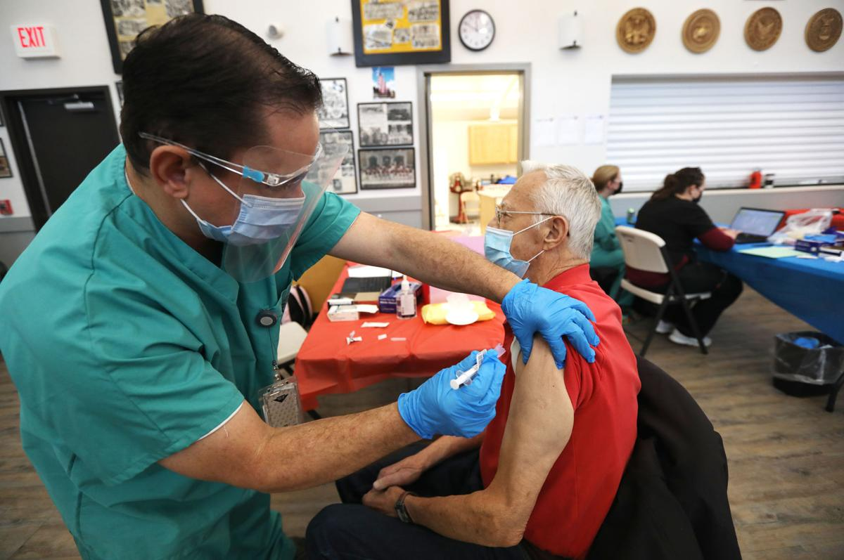 Butte Veterans get vaccinated