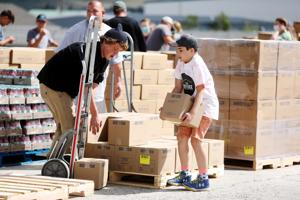 Church donates 40,000 pounds of food to Butte Rescue Mission, area food banks