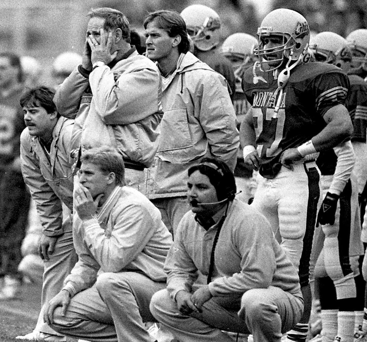 Bobby Hauck 1988-1989: University of Montana — Defensive Backs/Defensive Line