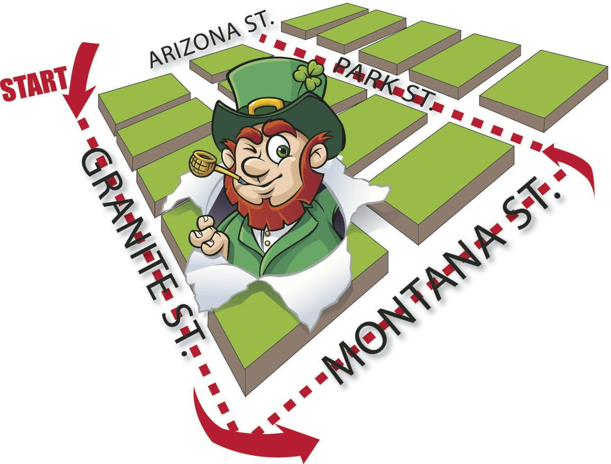 St. Pats parade route