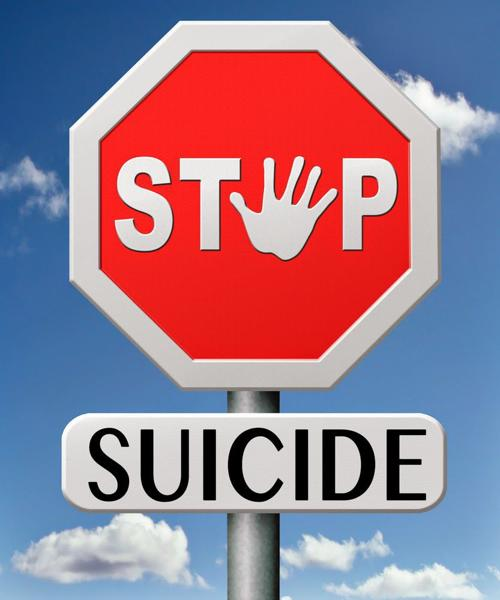 Stop suicide icon