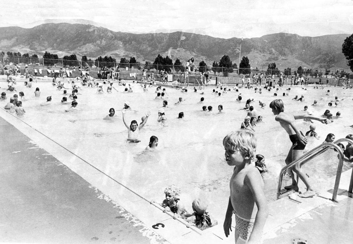 Lots of kids in the pool