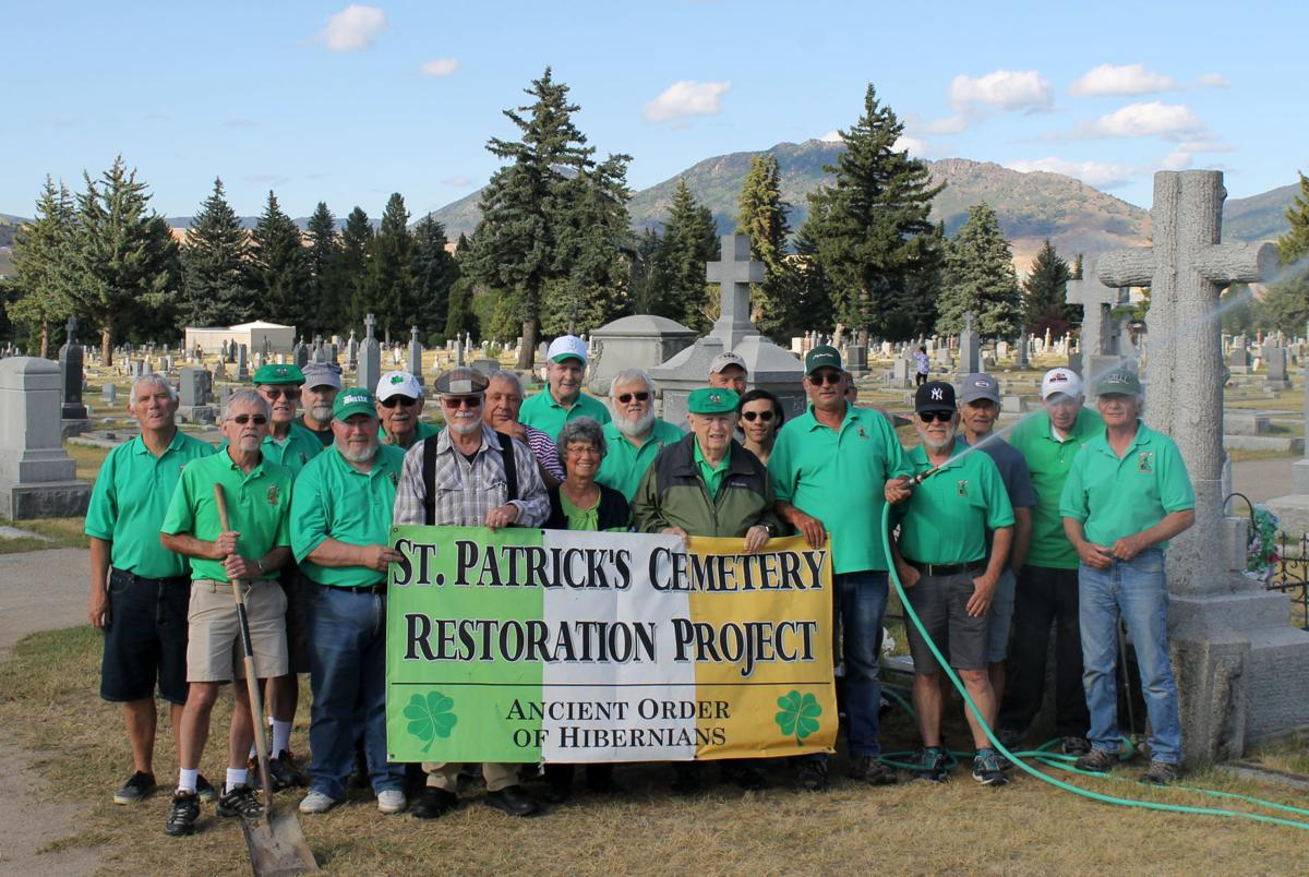 AOH members at St. Patrick's Cemetery