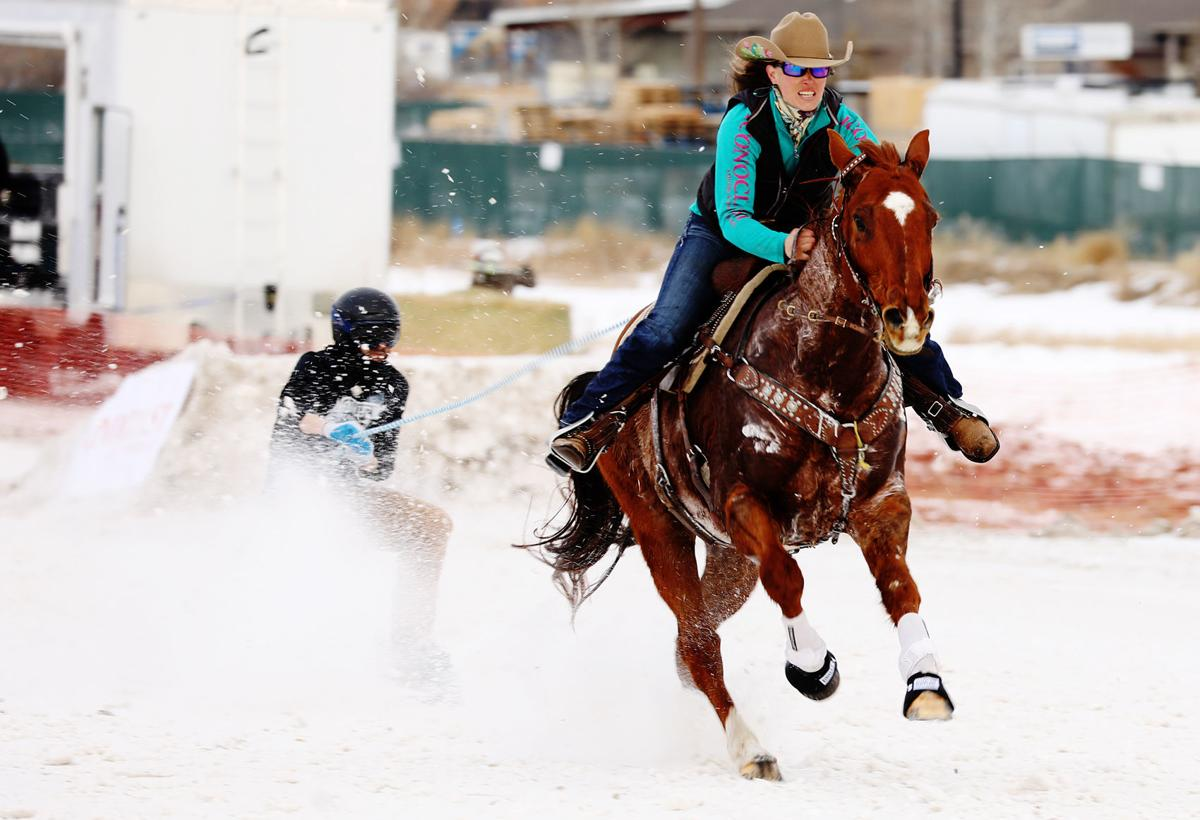 Fourth Annual Snöflinga features first skijoring event in Butte