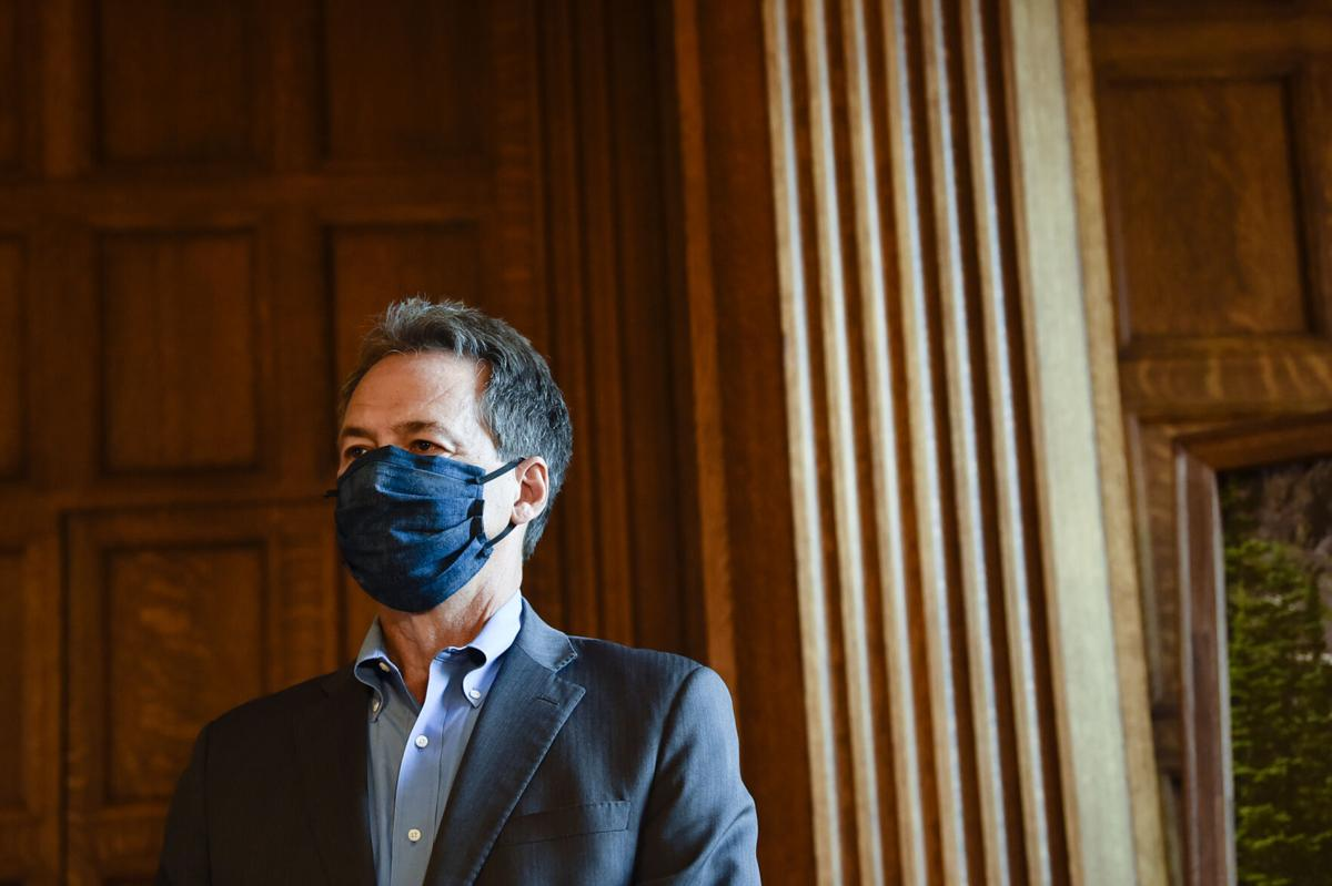 Gov. Steve Bullock gives an update on the state's response to the Covid-19