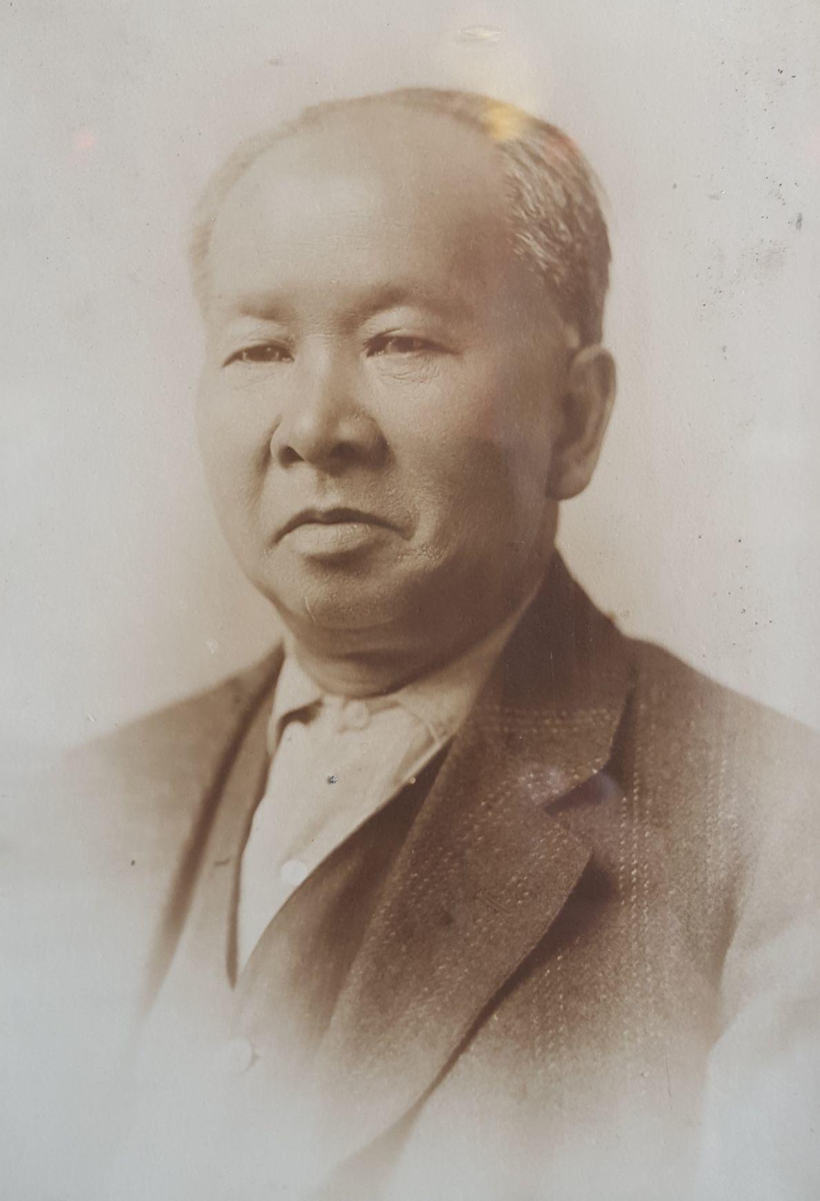 Photo: Chin Chun Hock photo in Mai Wah Museum.