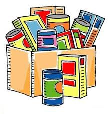food bank drive groceries icon