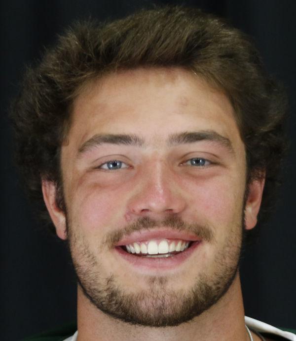 Tech football Logan Kolodejchuk