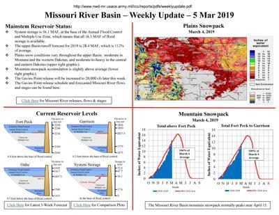 Reservoir forecast
