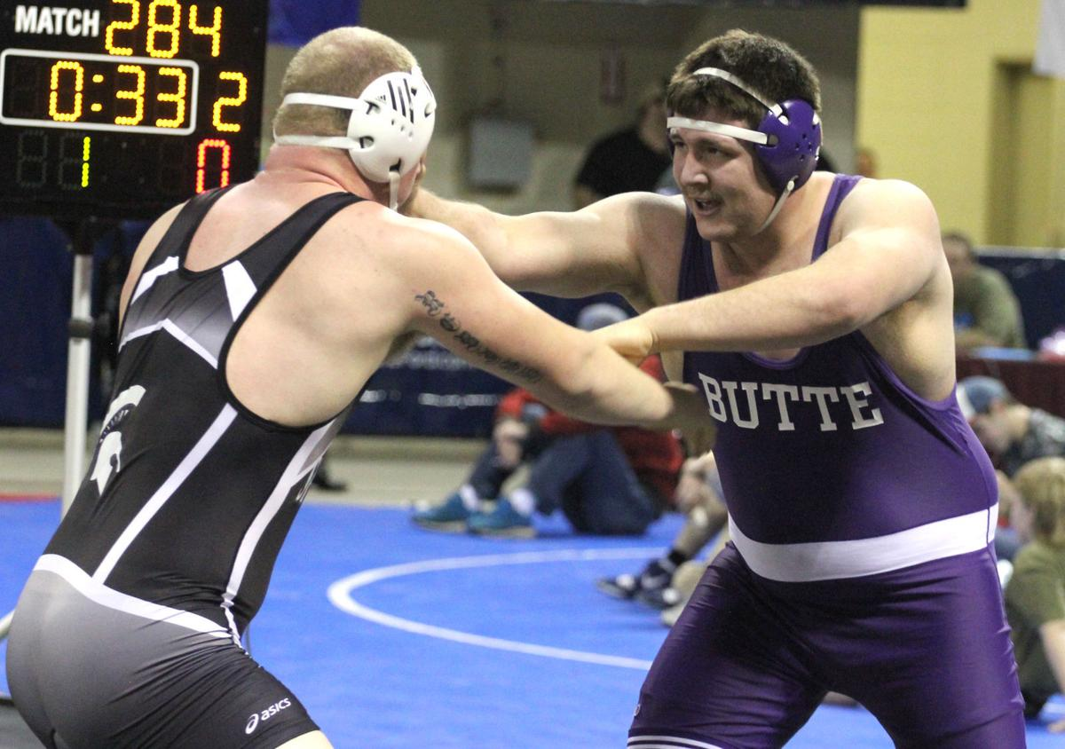 State wrestling: Butte Jeff Queer
