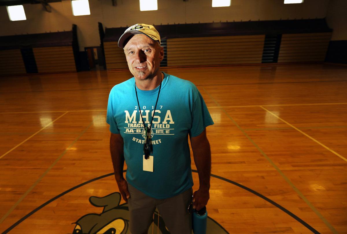 East Middle School PE teacher Dave Susanj