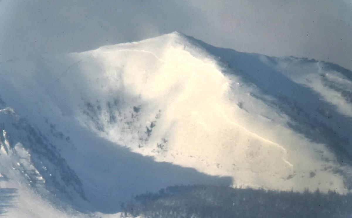 Avalanche in Beaverhead Mountains