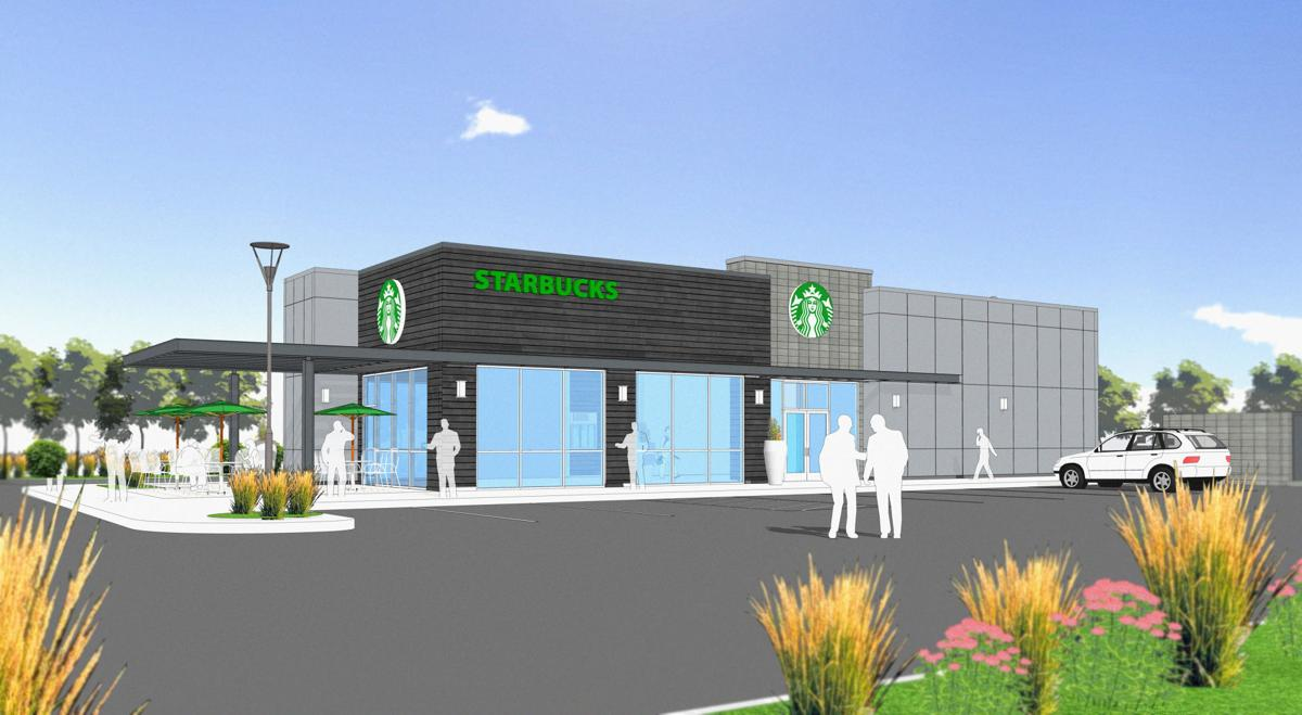 New Starbucks Building Part Of Plan For Former Hastings